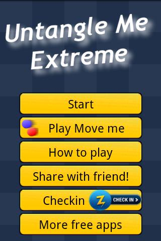 Untangle Me Extreme- screenshot