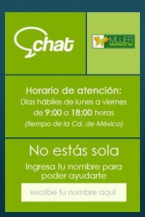 Chat Mujer migrante- screenshot thumbnail