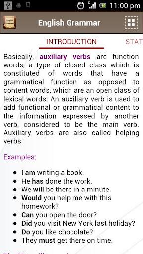 English Grammar Book  screenshots 5