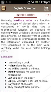English Grammar Book - screenshot thumbnail
