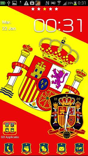 Go Launcher tema España Light