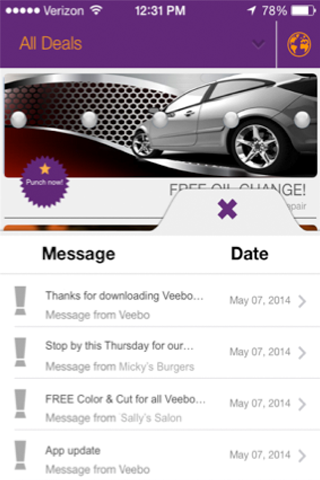 Veebo - screenshot