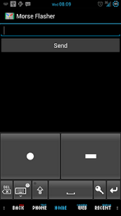 Mail Tap - Morse Code Keyboard - screenshot thumbnail