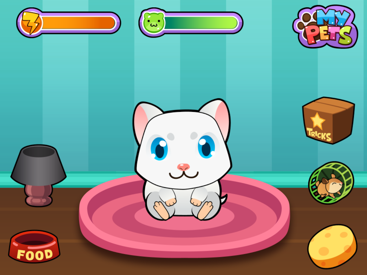 My Virtual Hamster - Cute Pet - screenshot