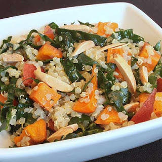 Kale and Sweet Potato Quinoa Salad