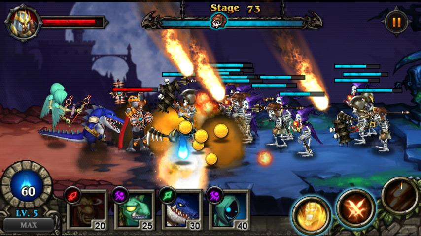 Hero Defense : Kill Undead - screenshot