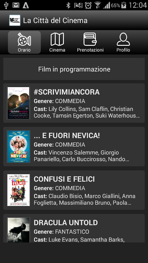 La Città del Cinema- screenshot