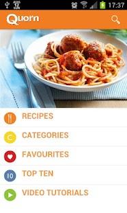 Quorn Vegetarian Recipes