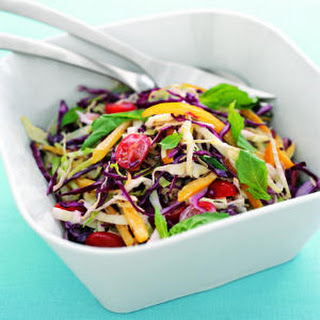 Colorful Summer Coleslaw.
