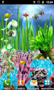 Fish Aquarium Live Wallpaper screenshot 1