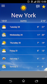 the Weather Screenshot 1
