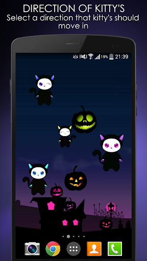 Lily Kitty Halloween Live WP