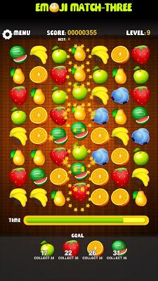 Emoji Match-3: Free Game - screenshot