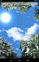 Screenshot of Winter Snowfall Live Wallpaper
