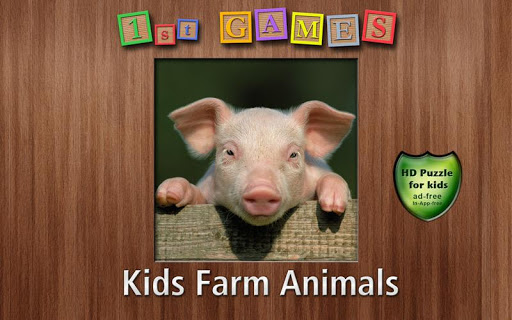 1st Games Kids Farm Animals