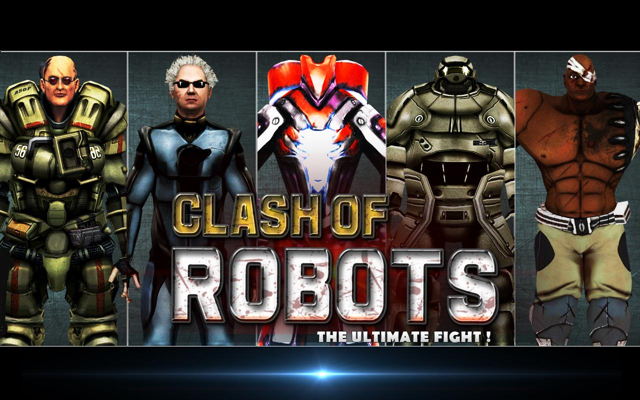 Clash of the Robots 3D- screenshot