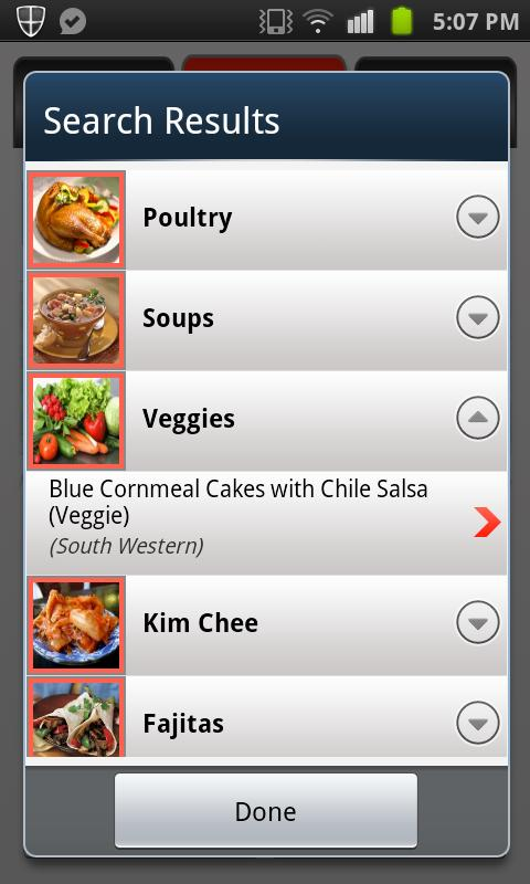 Recipe Guru - screenshot