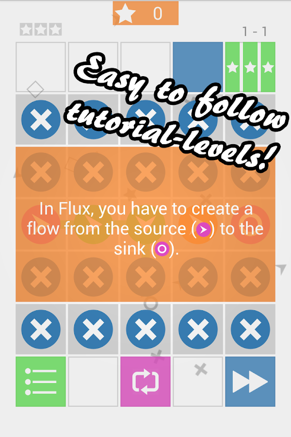 Flux: Flow Puzzle - screenshot