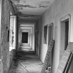 by David Marjanovic - Black & White Buildings & Architecture