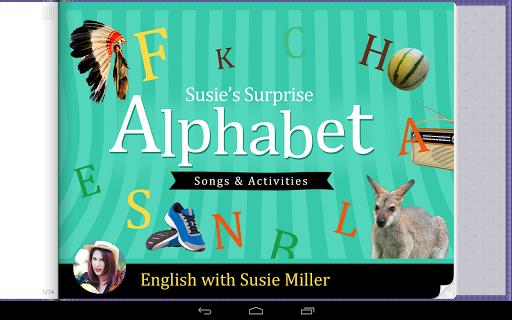 Susie's Surprise Alphabet