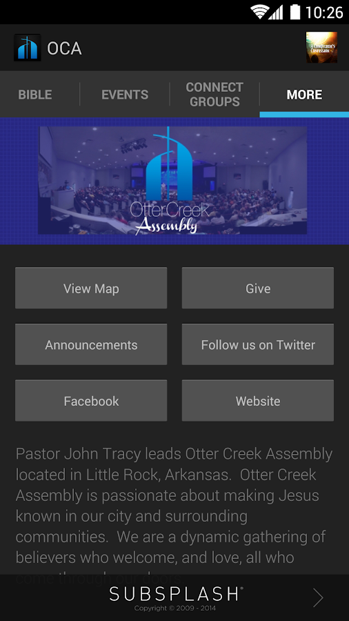 Otter Creek Assembly - screenshot