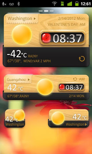 QuietlyElegant GO Widget Theme