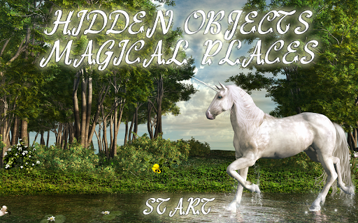 Hidden Object Magical Places