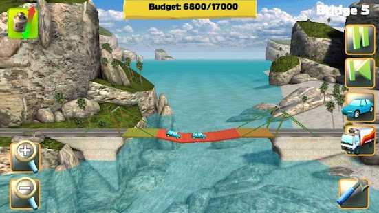 Bridge Constructor FREE- screenshot thumbnail
