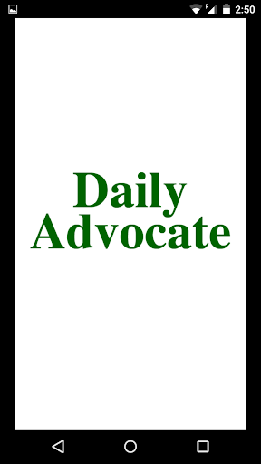 The Daily Advocate