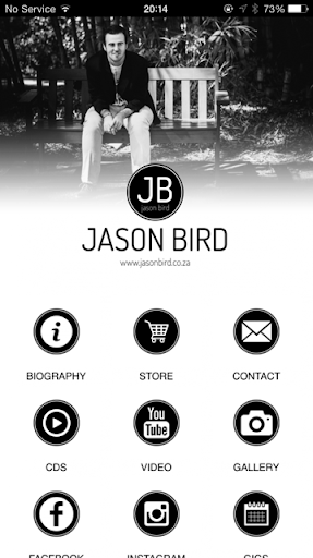 Jason Bird official mobile app
