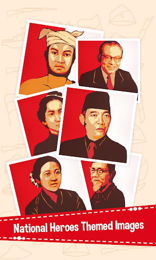 Puzzle Pahlawan Indonesia