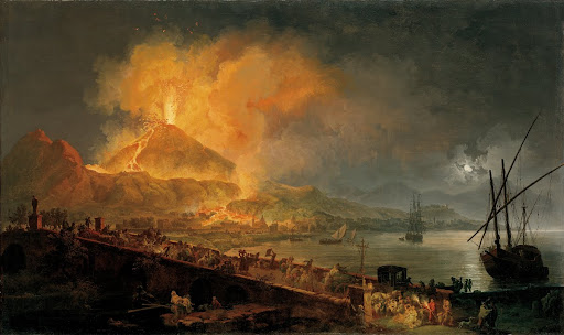 The Eruption of Mt. Vesuvius