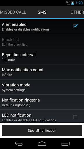 玩工具App 不在着信/ SMSのリマインダ免費 APP試玩