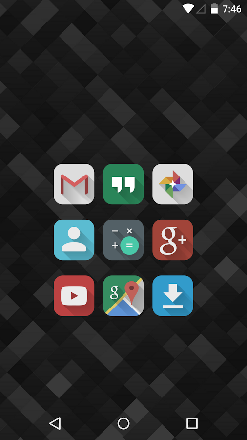 Lumos - Icon Pack- screenshot