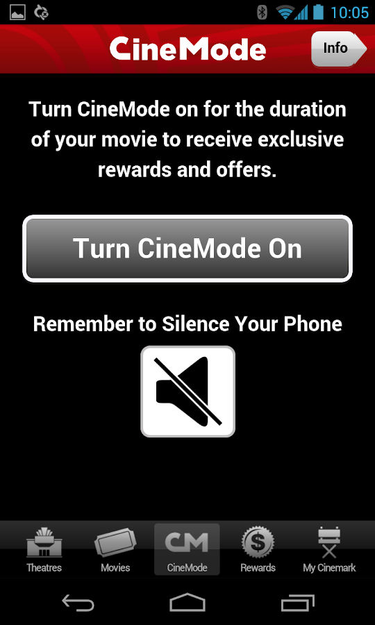 Cinemark Theatres - screenshot