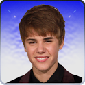 Kiss Justin Bieber Widget icon