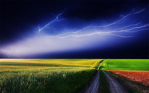 Thunderstorm HD wallpaper