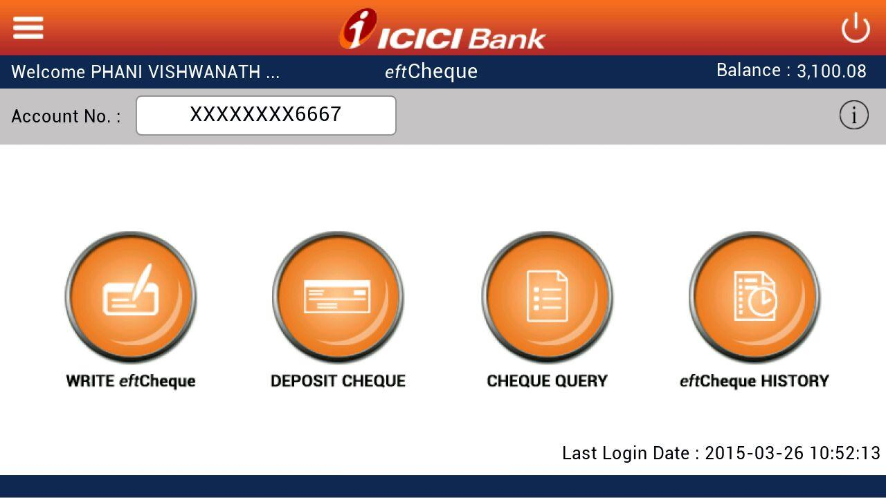 Icici Bank Eftcheques Google Play Store Revenue