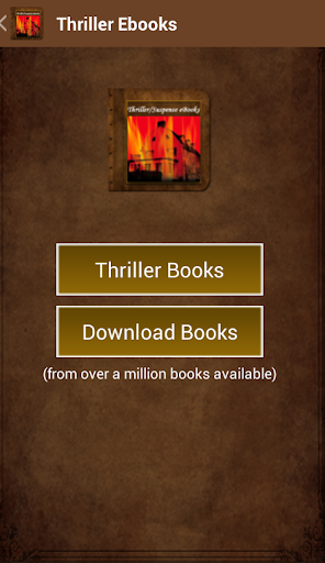 Thriller Ebooks