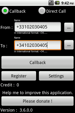 IPCall : Cheapest way to call - screenshot