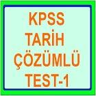 KPSS TARİH ÇÖZÜMLÜ TEST 1 icon