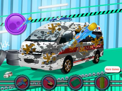 Ambulance Car Wash 休閒 App-愛順發玩APP
