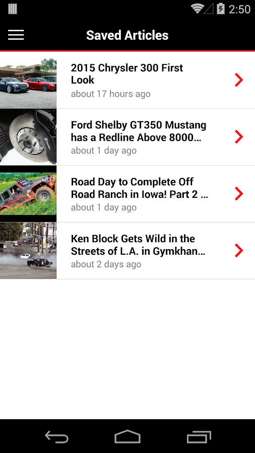 MOTOR TREND News- screenshot