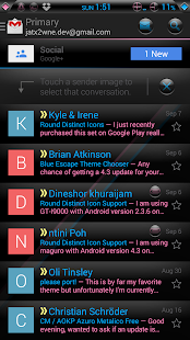 Blink CM AOKP theme - screenshot thumbnail