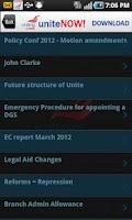 Screenshot of Unite-NOW