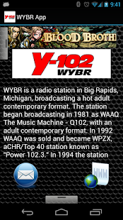 WYBR App - screenshot thumbnail