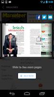 Screenshot of Marketeer