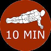 10 Minute Plank Calisthenics