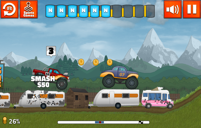 Grand Truckismo - screenshot