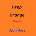 CM10 Theme DeepOrange icon